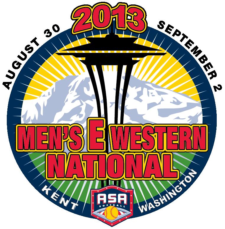 Men's E Western Logo