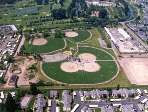 Russell Road Aerial Photo